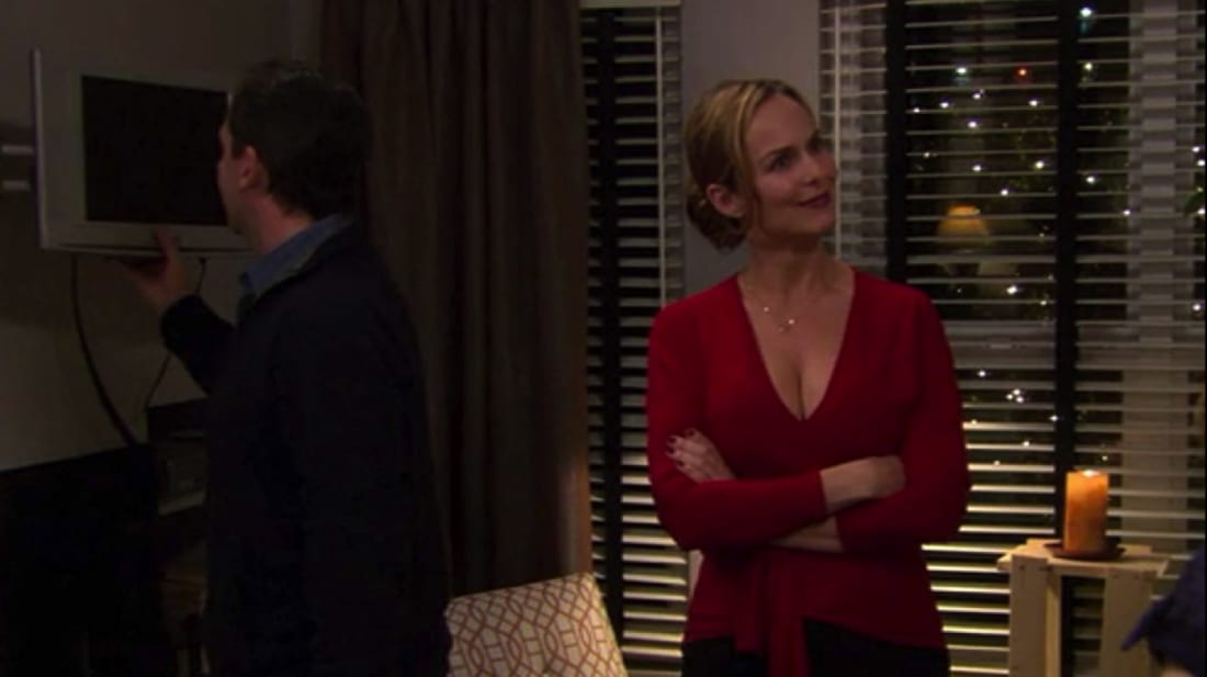 "Steve Carell and Melora Hardin are the hosts from hell in The Office's infamous ""Dinner Party"" episode."