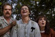 David Harbour and Winona Ryder in Stranger Things.