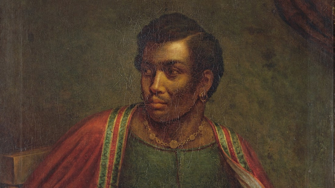 Ira Aldridge as Othello circa 1830