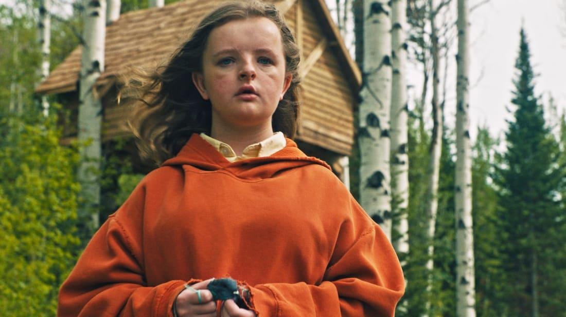 Milly Shapiro in Hereditary (2018).