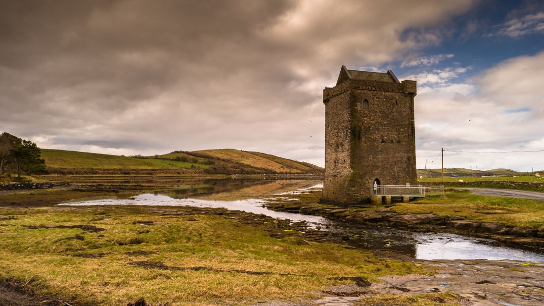 Rockfleet Castle, which Grace O'Malley used as a base