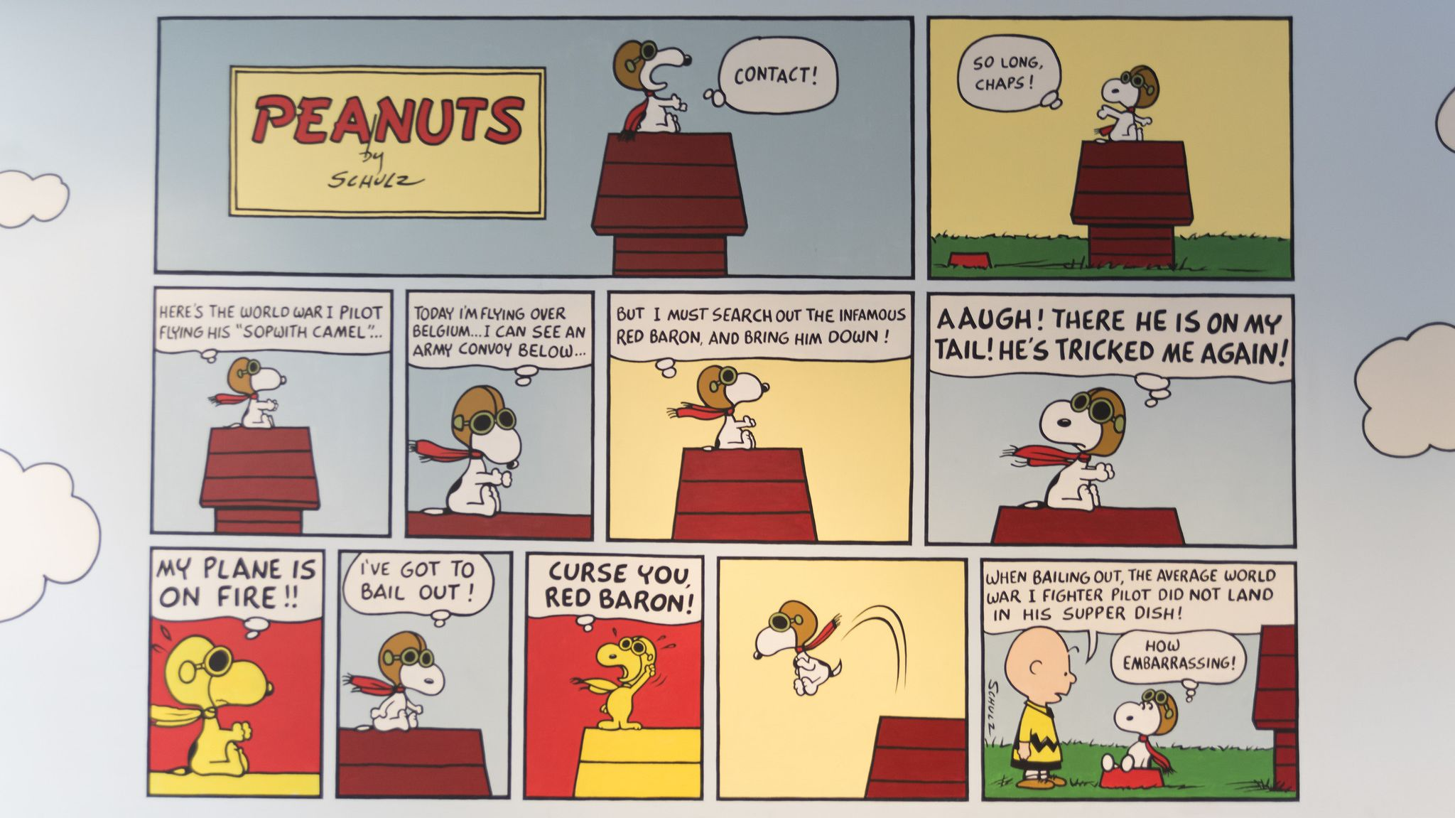 Peanuts Comic Strip Christmas