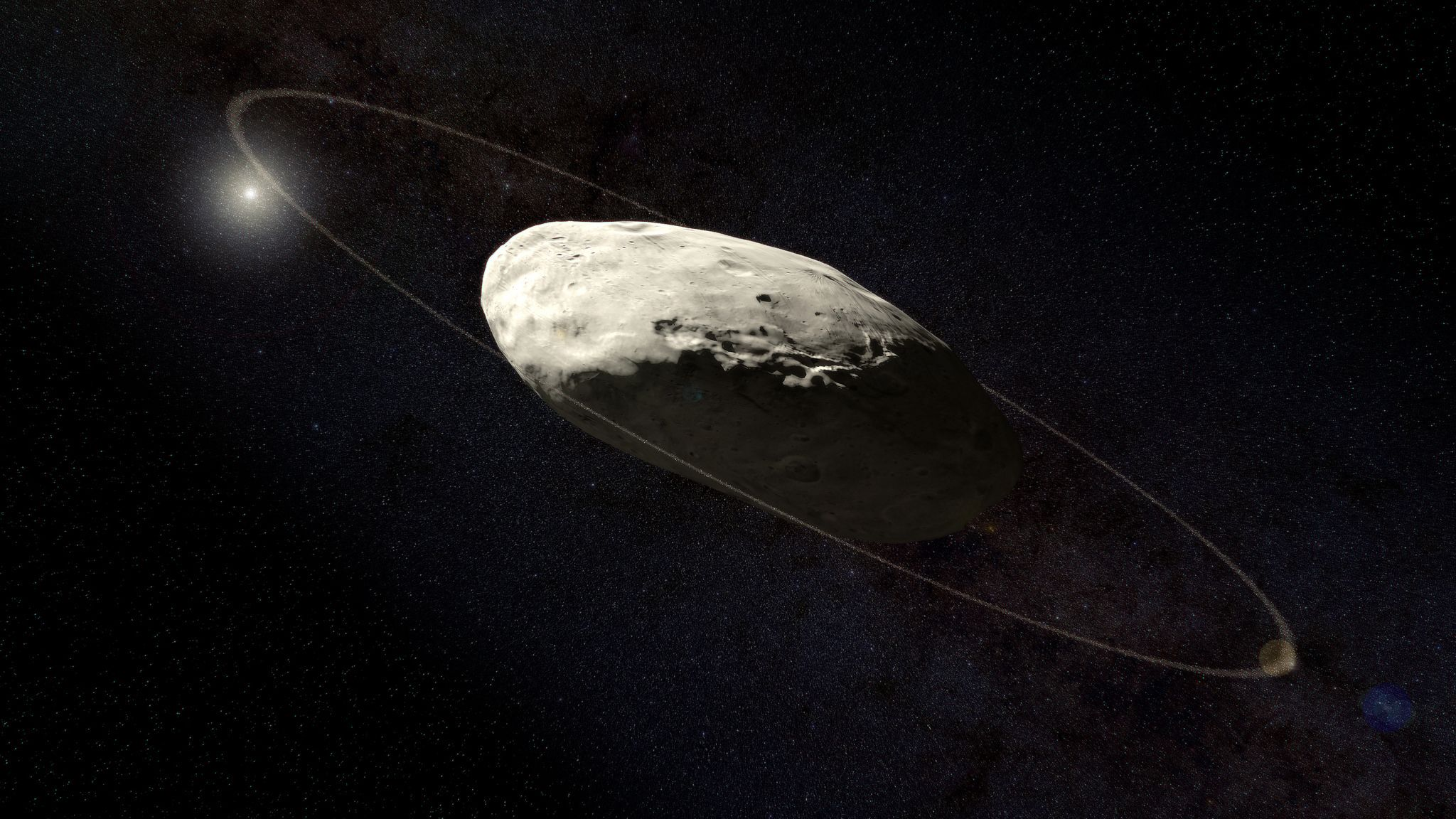 10 Facts About the Dwarf Planet Haumea | Mental Floss