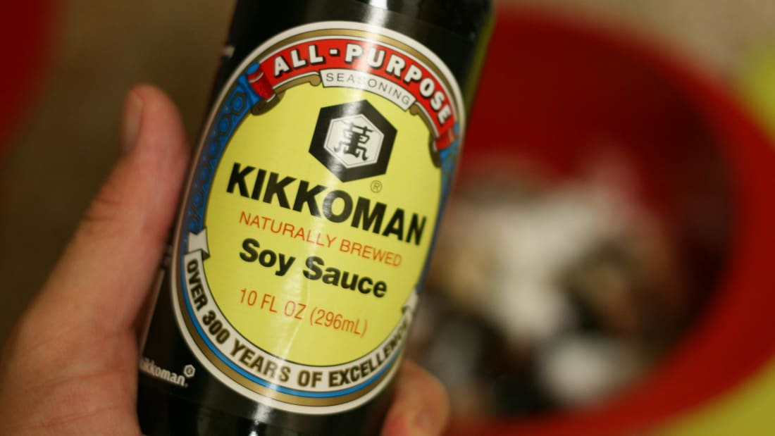 Kikkoman soy sauce, a company founded by a widow, according to legend