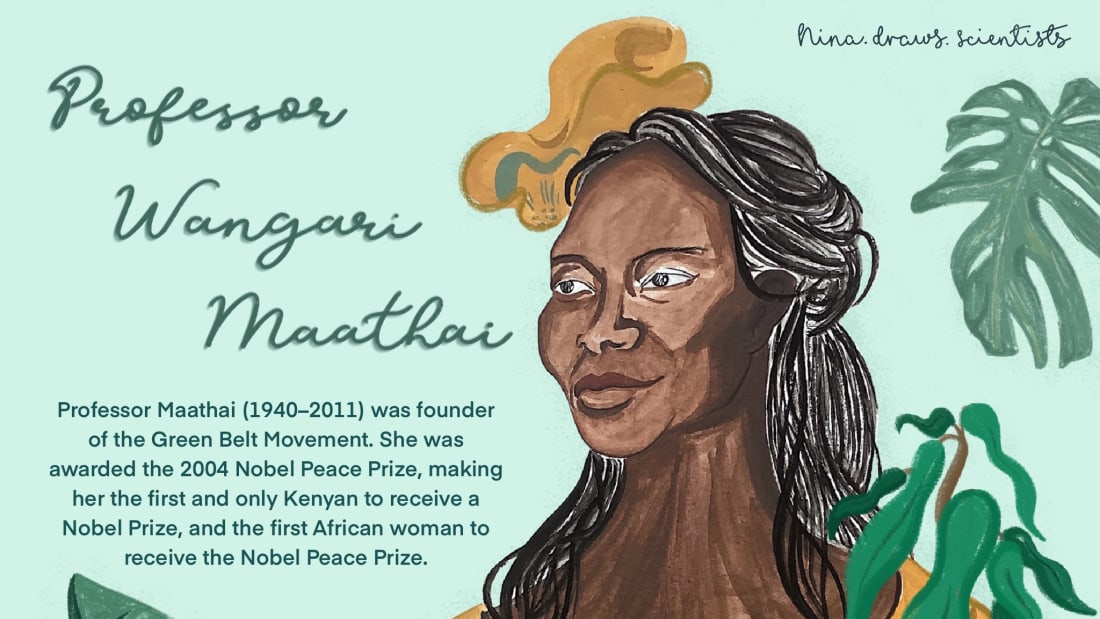 Kenya's Wangari Maathai isn't a household name, but she should be.