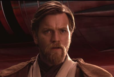 Ewan McGregor stars as Obi-Wan Kenobi in Star Wars: Episode III - Revenge of the Sith (2005).