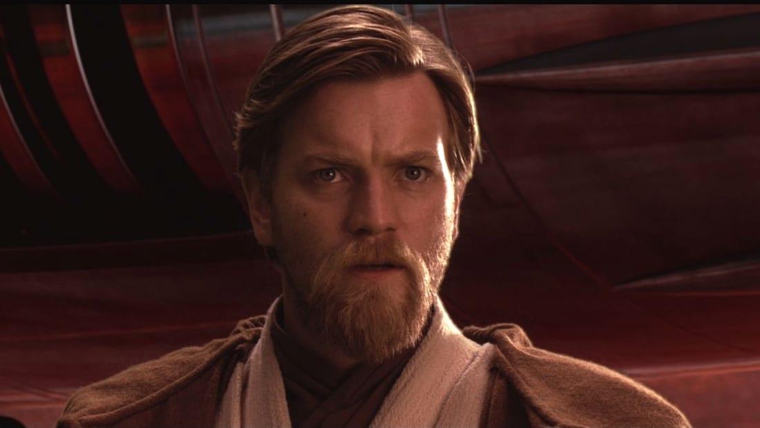 Ewan McGregor stars as Obi-Wan Kenobi in Star Wars: Episode III - Revenge of the Sith (2005).