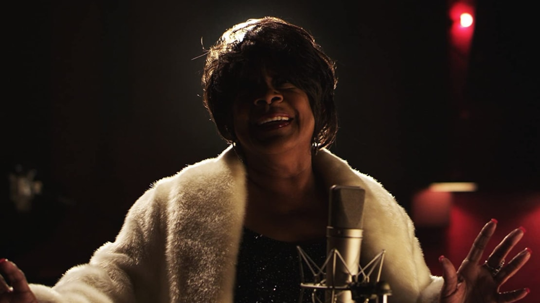 Merry Clayton in Twenty Feet from Stardom (2013).