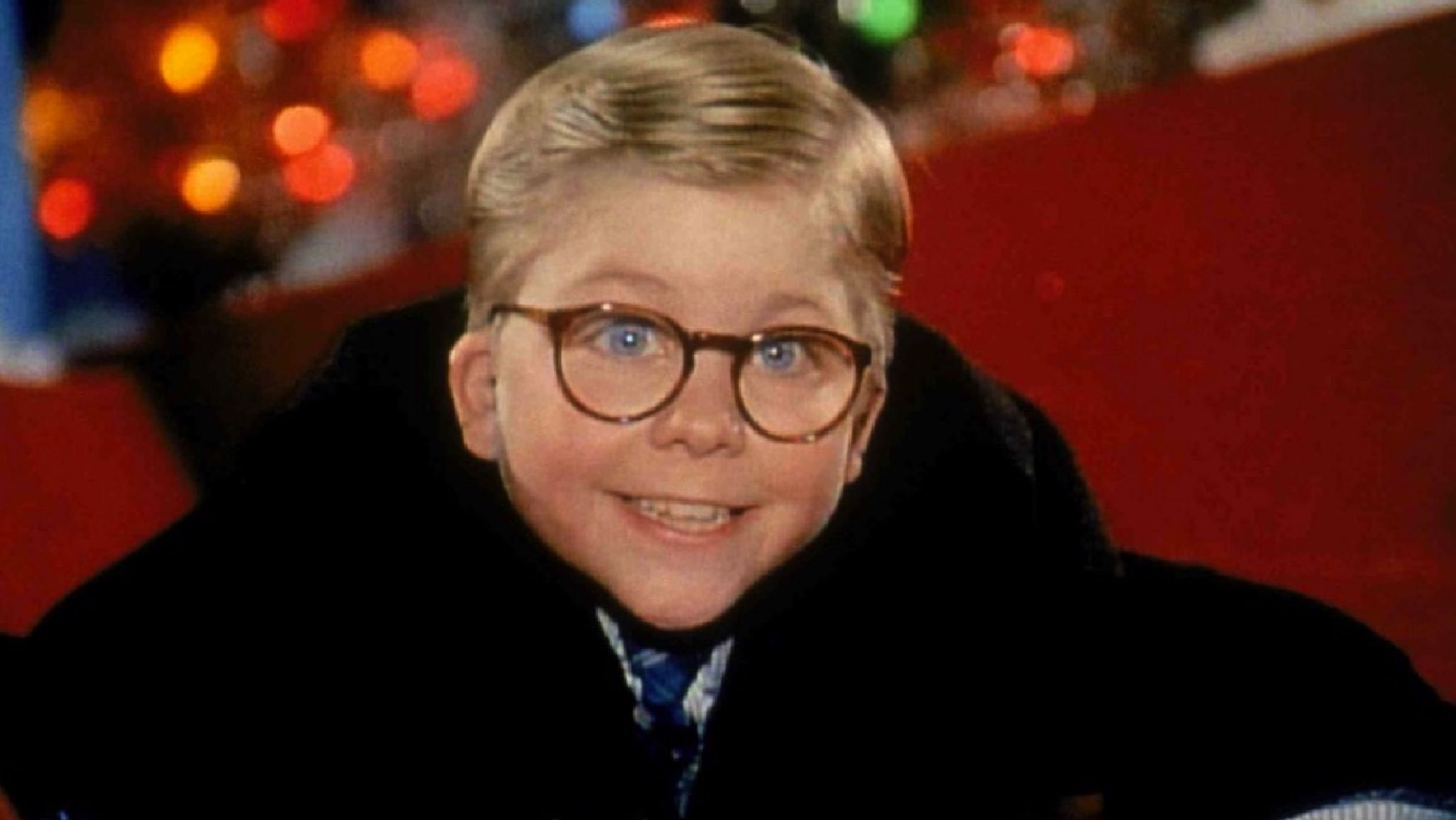 """A CHRISTMAS STORY 1983 Comedy Movie RALPHIE PARKER 10/"""" Talking ACTION FIGURE New"""