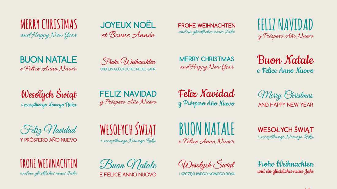 Merry Christmas In Different Languages.How To Say Merry Christmas In 26 Different Languages