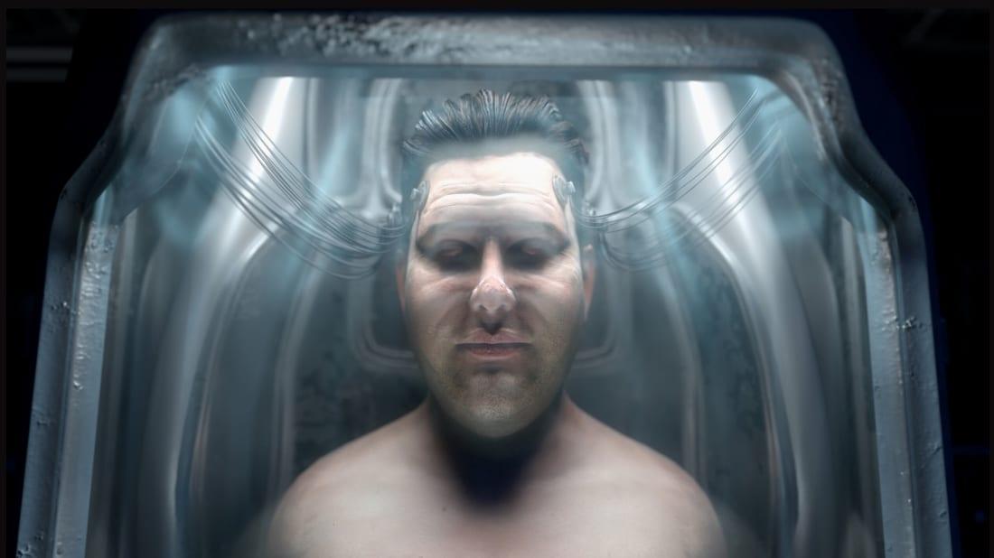 A still from Rodney Ascher's A Glitch in the Matrix (2021).