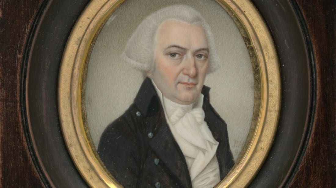 A painting of Gouverneur Morris by Pierre Henri, 1798.