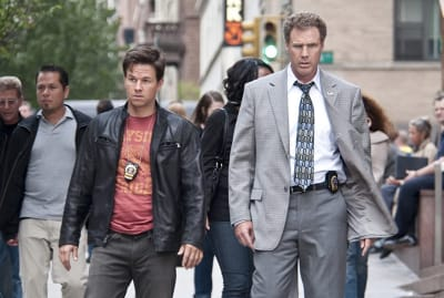 Mark Wahlberg and Will Ferrell star in Adam McKay's The Other Guys (2010).