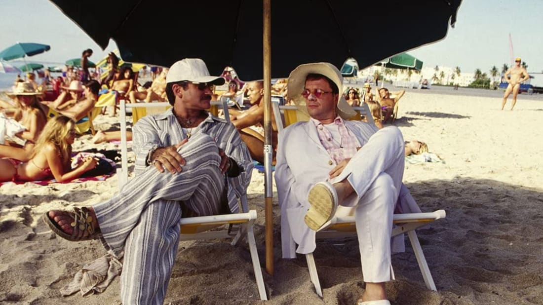 Robin Williams and Nathan Lane in The Birdcage (1996).