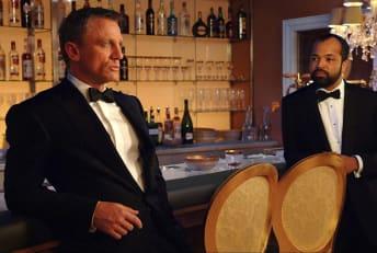 Daniel Craig and Jeffrey Wright star in Casino Royale (2006).