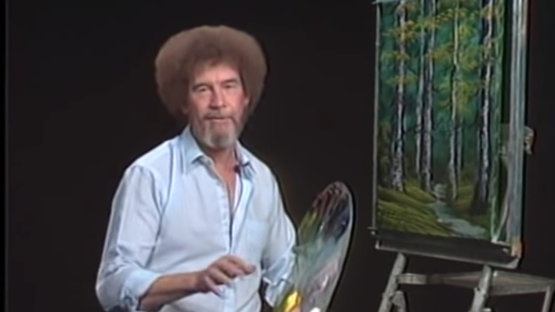 Michigan Is Taking a Cue From Bob Ross and Planting