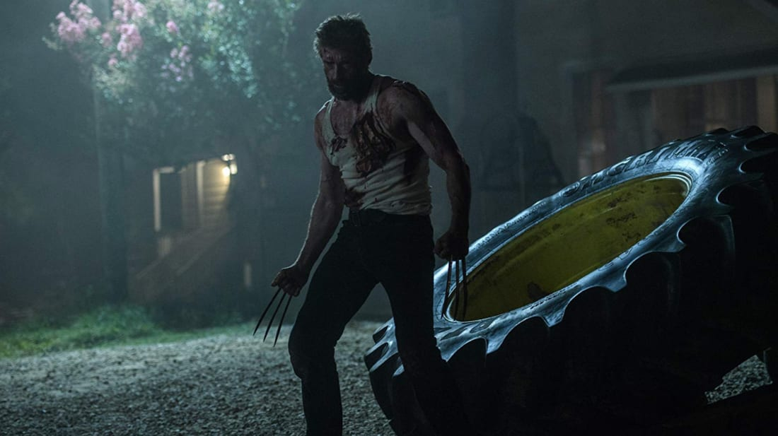 Hugh Jackman stars as Wolverine in Logan (2017).