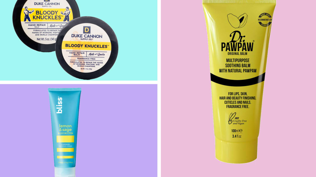 These lotions and balms can help revitalize your dry, cracked hands.