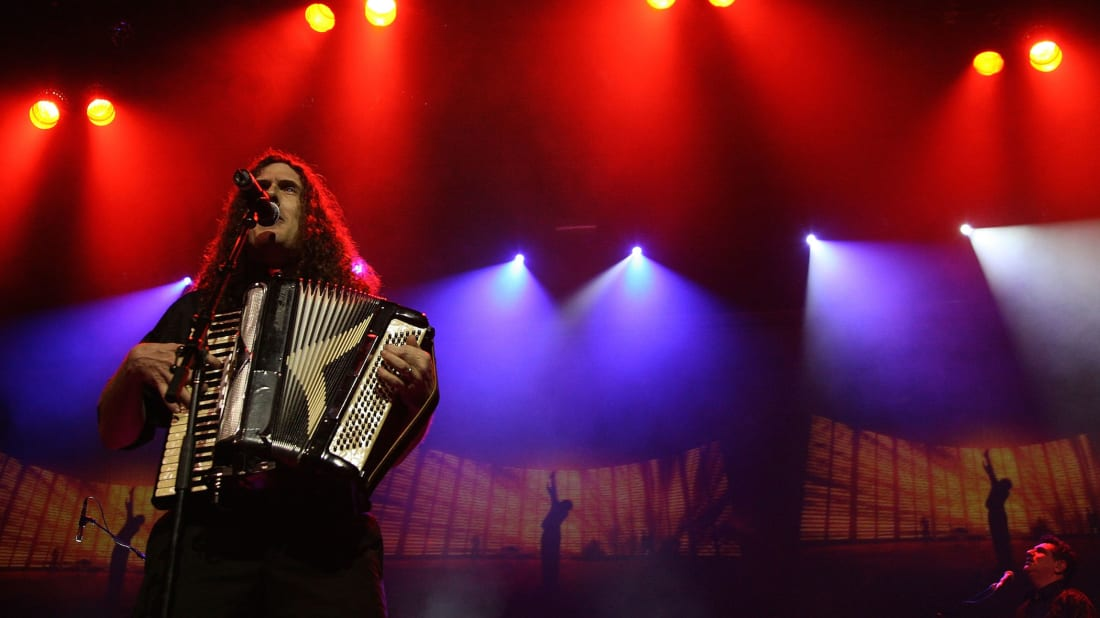 "Watch ""Weird Al"" Yankovic Join Weezer to Cover Toto's"