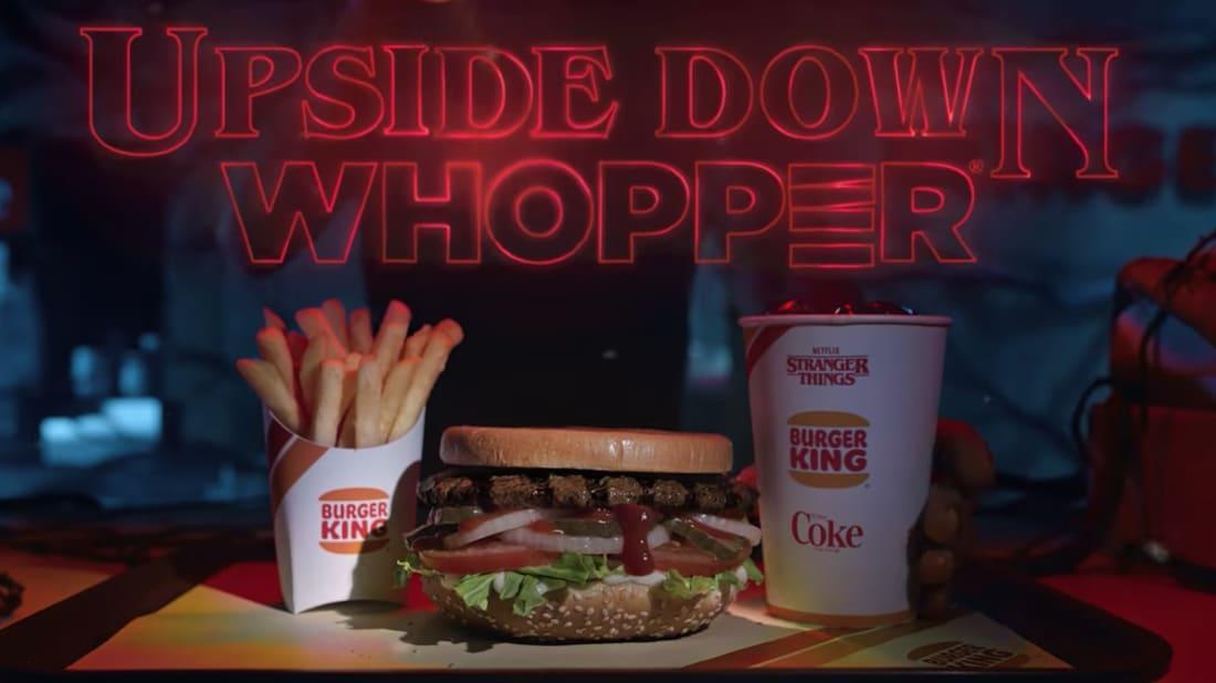 Image result for stranger things burger king