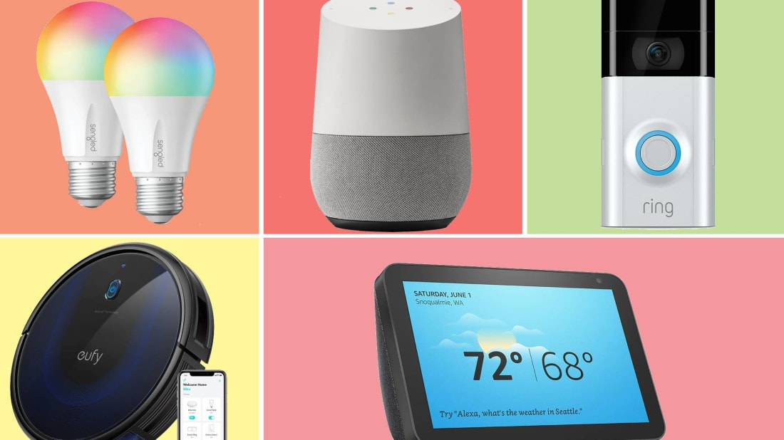 12 Smart Home Devices to Help You Live Your Best (and Laziest) Life