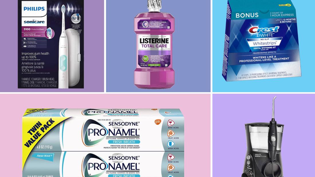 Philips/Listerine/Crest/Sensodyne/Waterpik/Amazon