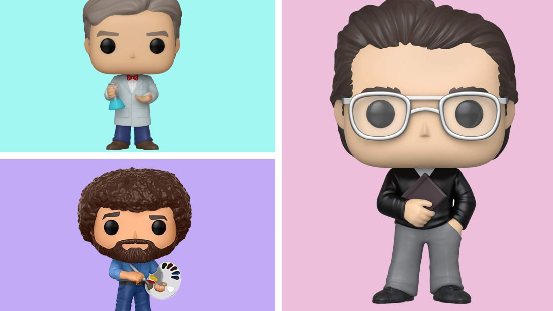 You'll find Bob Ross, Bill Nye, and many other Funkos based on actual people.