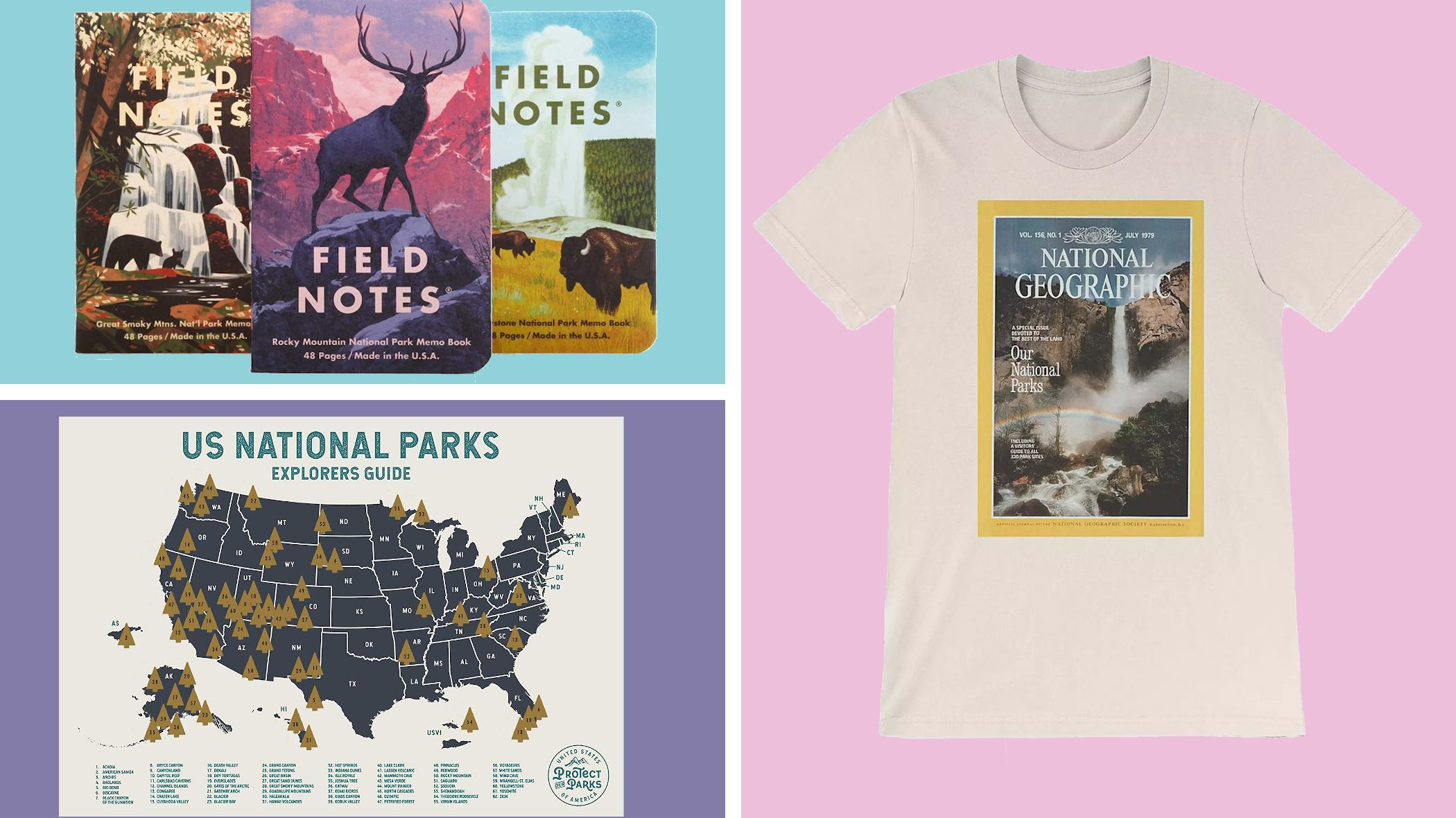 6 Products That Celebrate and Support U.S. National Parks