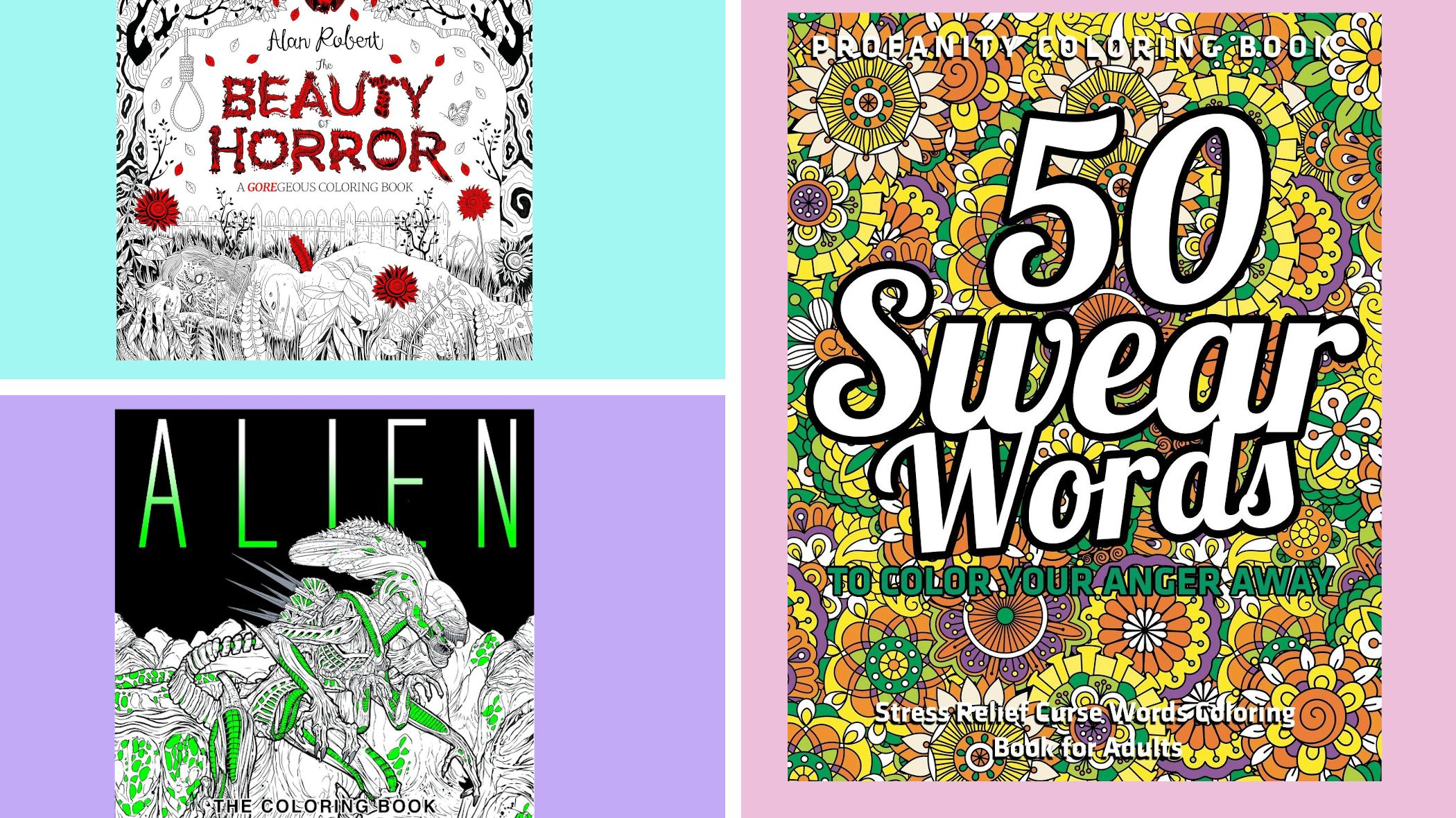 9 R-Rated Adult Coloring Books That Add a Little Edge to Your Relaxation