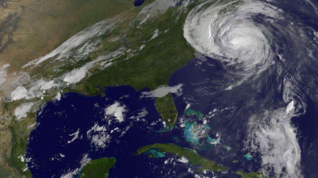 Hurricane Earl (top) and Hurricane Fiona (bottom) pummel the U.S. coast and Caribbean islands.