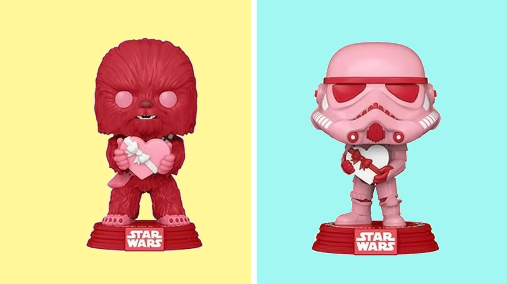 Make Your Partner Swoon With These Valentine's Day <em>Star Wars</em> Funko Pops
