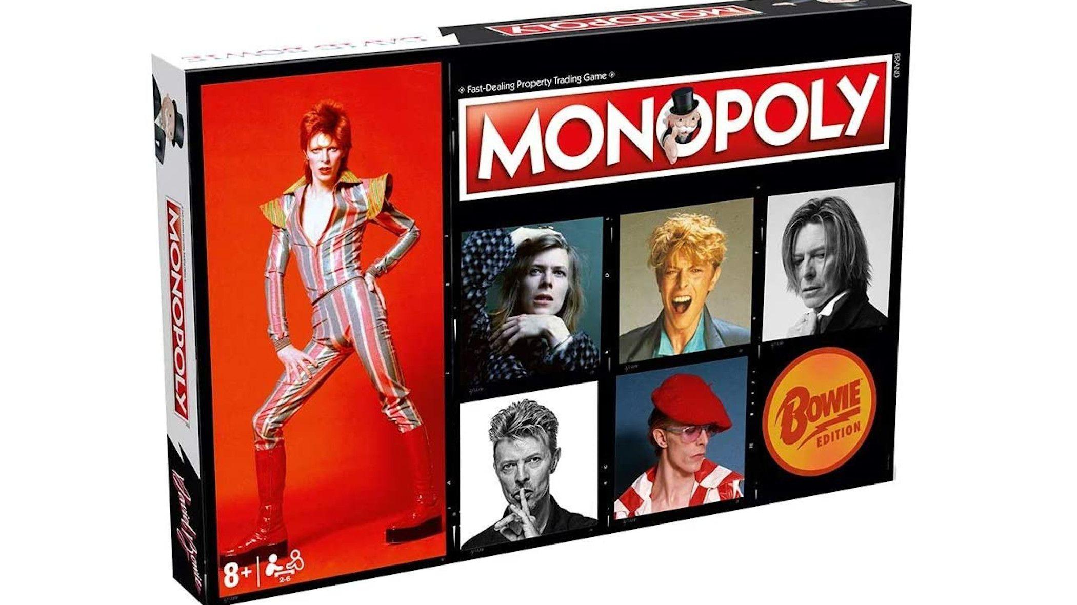 David Bowie-Themed <em>Monopoly</em> Is the Blackstar of Board Games