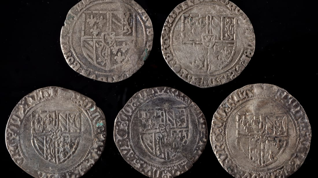 English School Caretaker Discovers Medieval Coin Hoard Buried in Playground