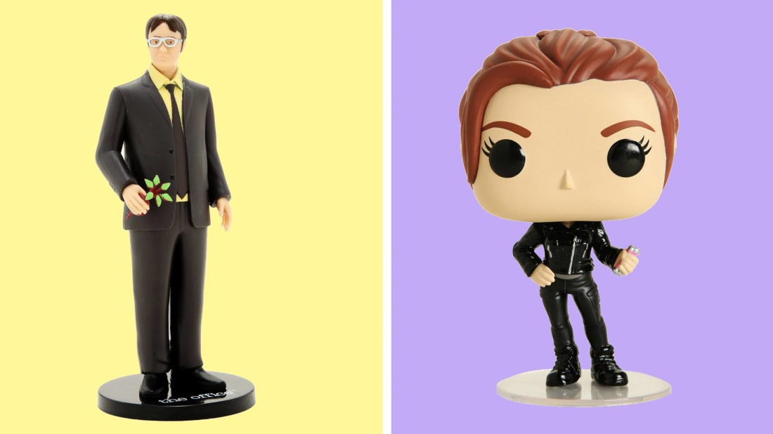 Funkos for Marvel's upcoming Black Widow and plenty of Office trinkets are on sale today.