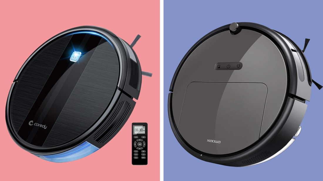 Cross one thing off your to-do list with a robot vacuum cleaner.