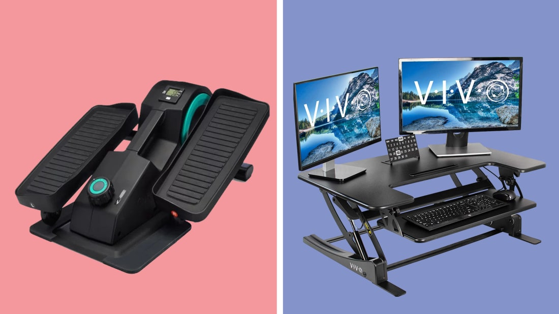 Adding some cardio with the under-the-desk elliptical or utilizing a standing desk can help increase productivity.