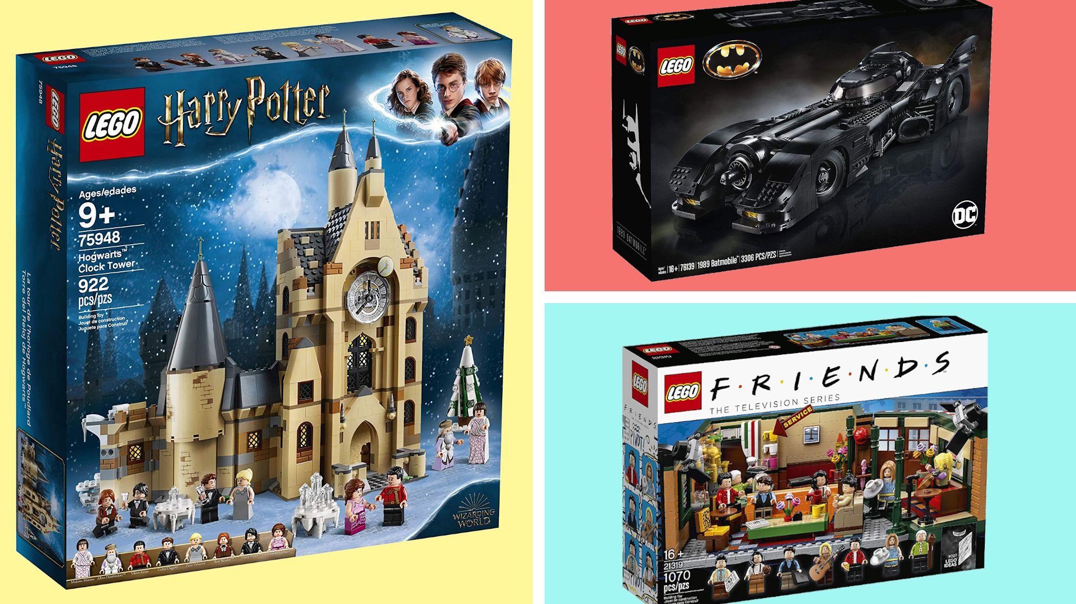 Pop Culture LEGO Sets: Star Wars, Harry Potter, and Avengers | Mental Floss