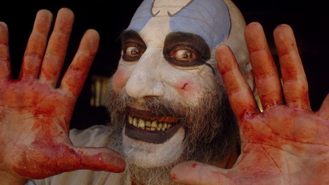 Sid Haig stars in Rob Zombie's The Devil's Rejects (2005).