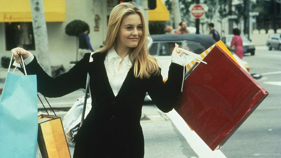 Alicia Silverstone in Clueless (1995).