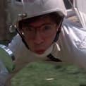 Rick Moranis stars in Honey, I Shrunk the Kids (1989).