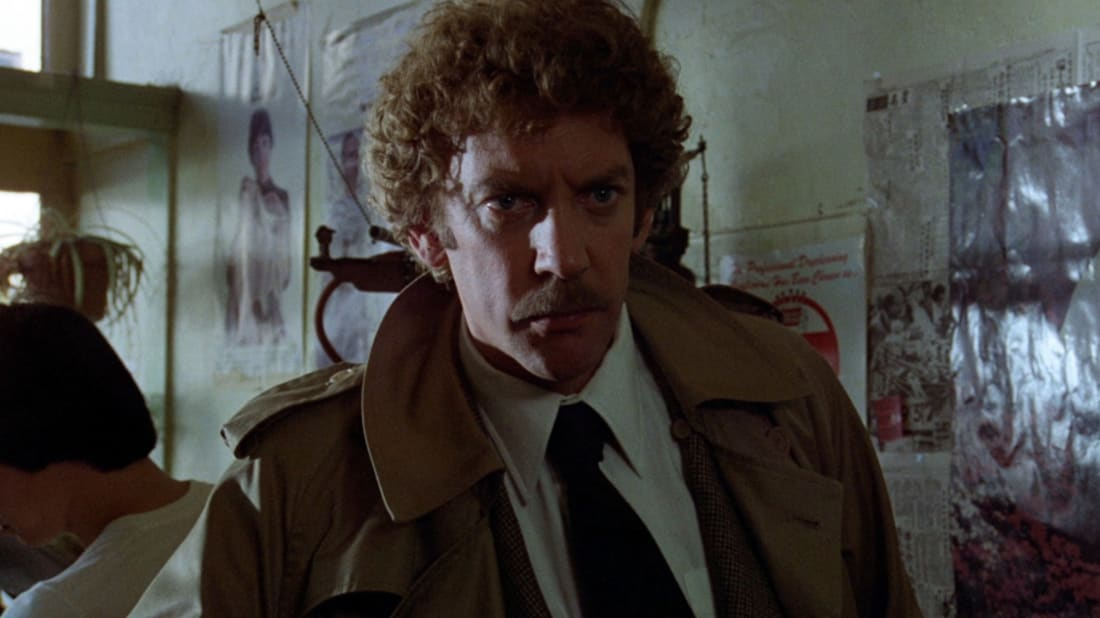 Donald Sutherland in Invasion of the Body Snatchers (1978).