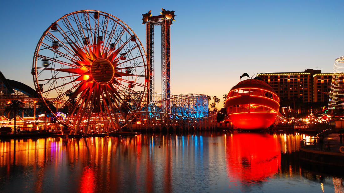 Anaheim, California's Paradise Pier.