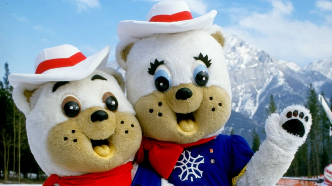 The 1988 Winter Olympic Games' mascots were Hidy and Howdy.