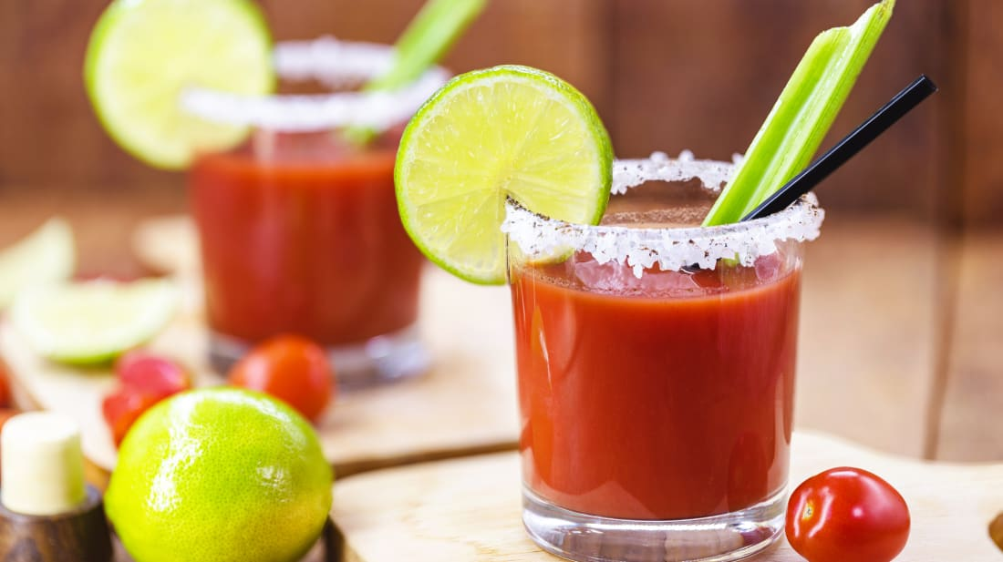 A Caesar cocktail.