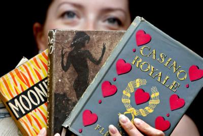 Ian Fleming's original James Bond novels are up for sale.