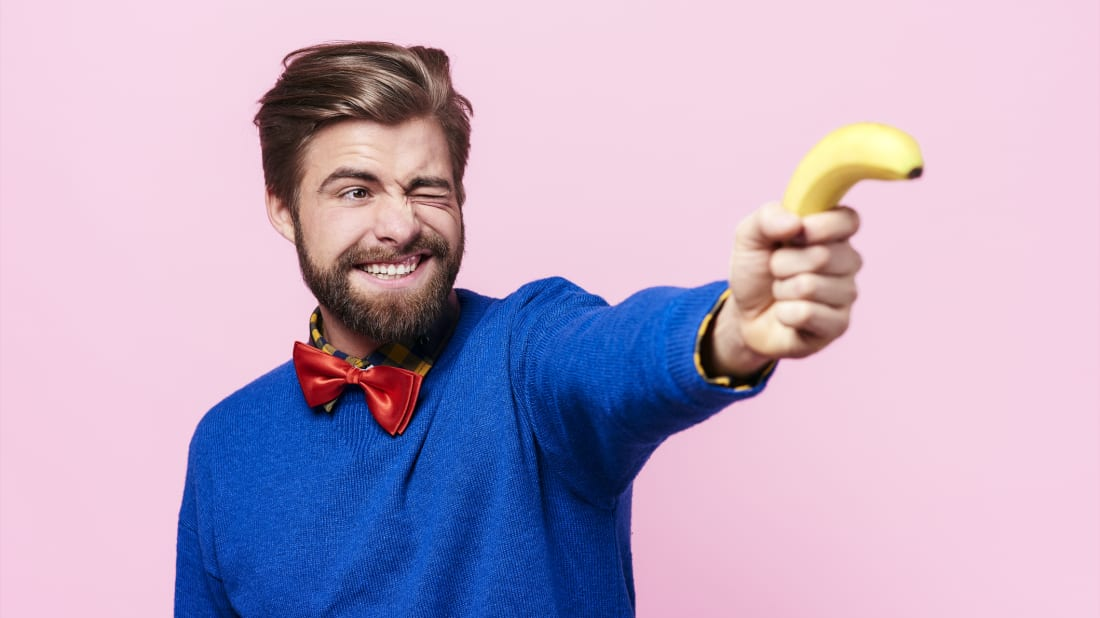"Someone engaged in a pointless task or without direction in life can be called a bananenbieger, or ""banana bender."""