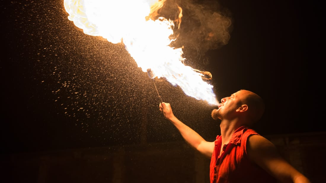 How Do Fire Eaters Eat Fire? | Mental Floss