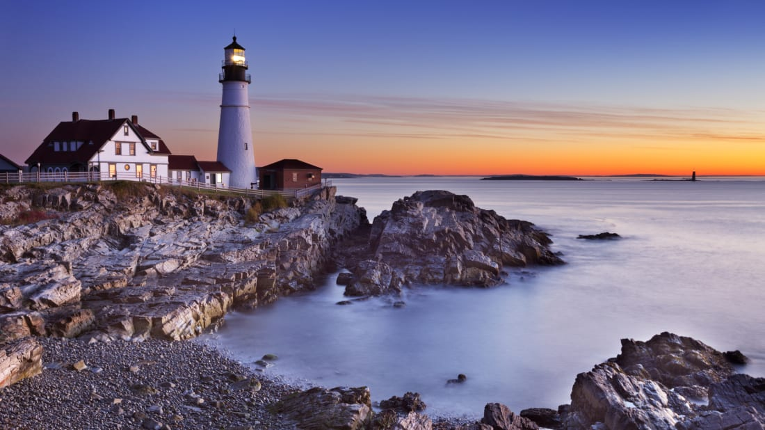 Maine's Portland Head Lighthouse.