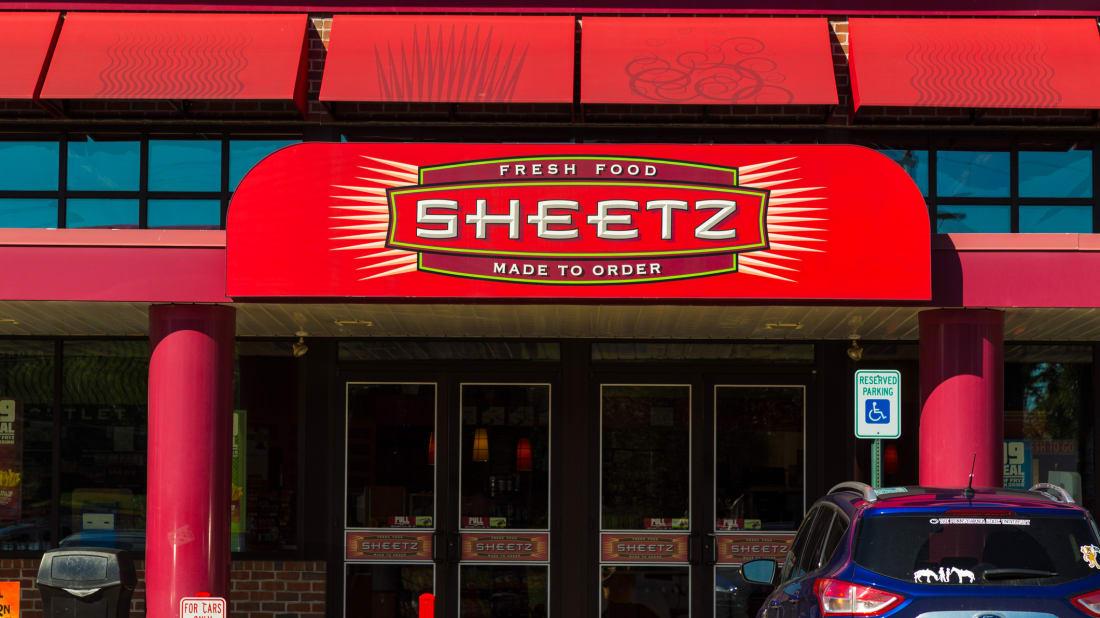 The entrance to a Sheetz convenience store in Lebanon, Pennsylvania.