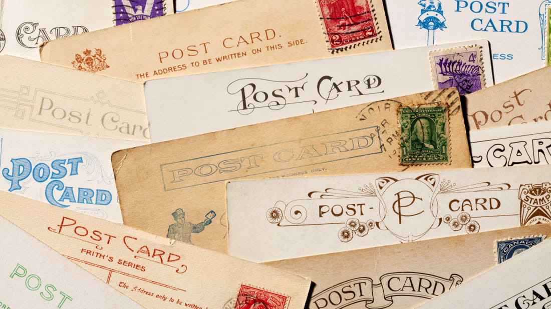 If you or someone you know collects postcards, there's a word for that.